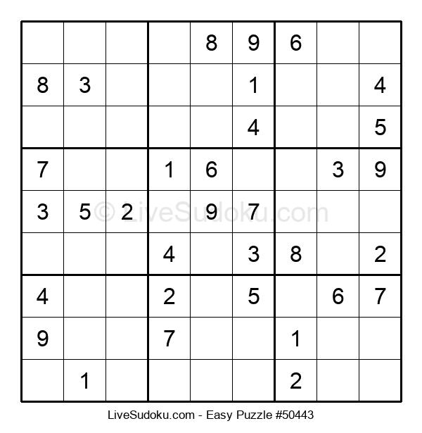 Beginners Puzzle #50443