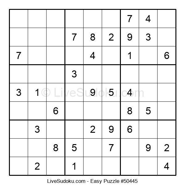 Beginners Puzzle #50445