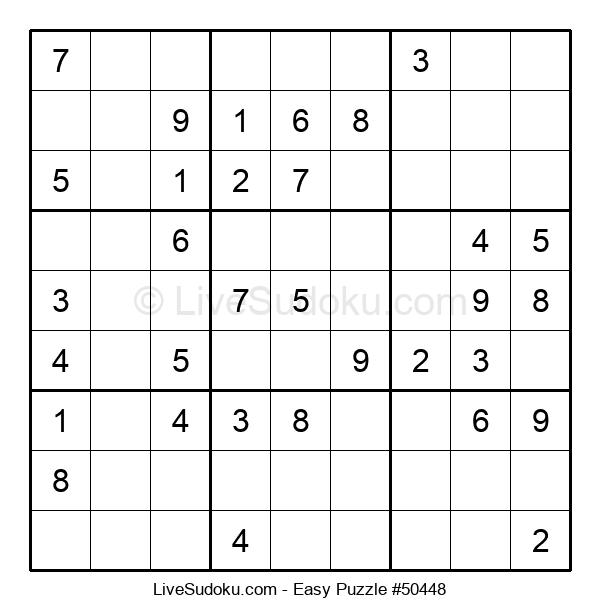 Beginners Puzzle #50448