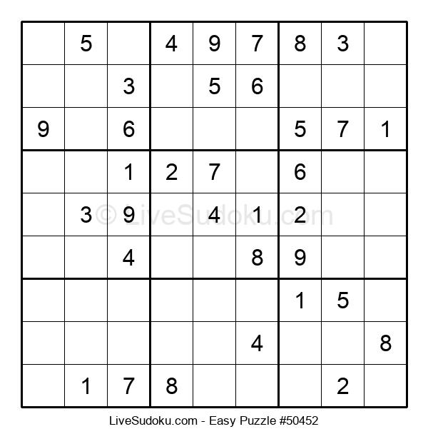 Beginners Puzzle #50452