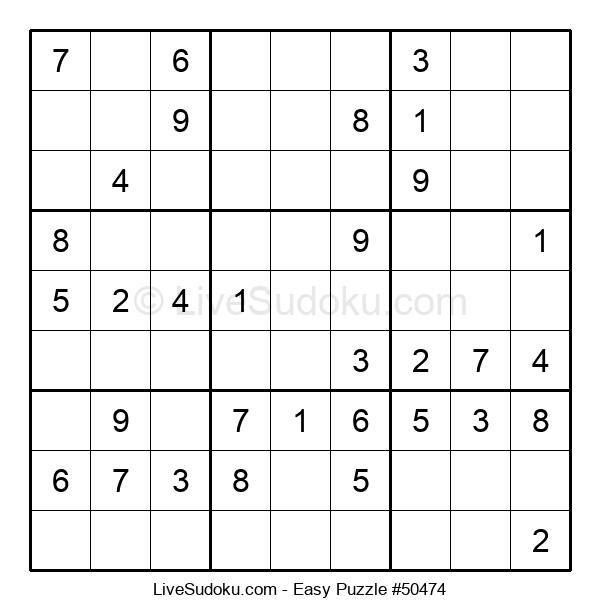 Beginners Puzzle #50474