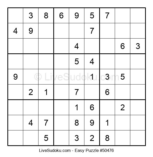 Beginners Puzzle #50476