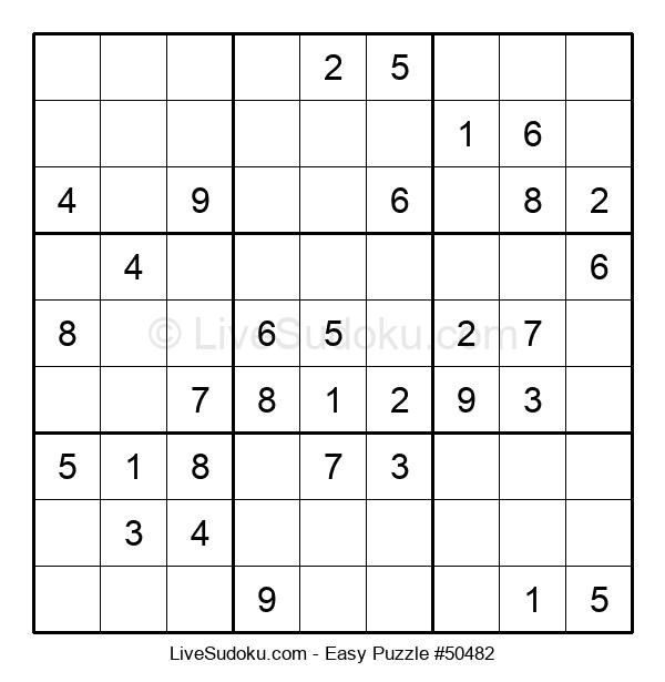 Beginners Puzzle #50482
