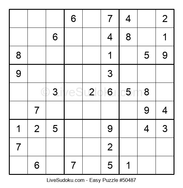 Beginners Puzzle #50487