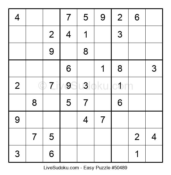 Beginners Puzzle #50489