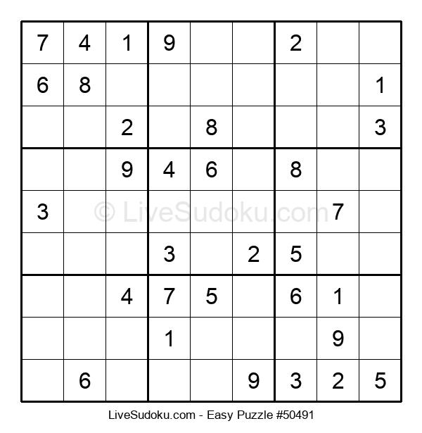 Beginners Puzzle #50491