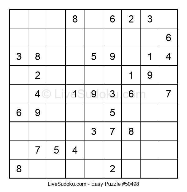 Beginners Puzzle #50498