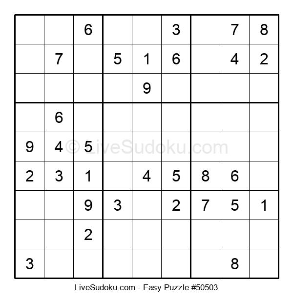 Beginners Puzzle #50503