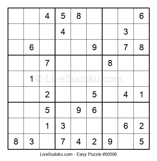 Beginners Puzzle #50506