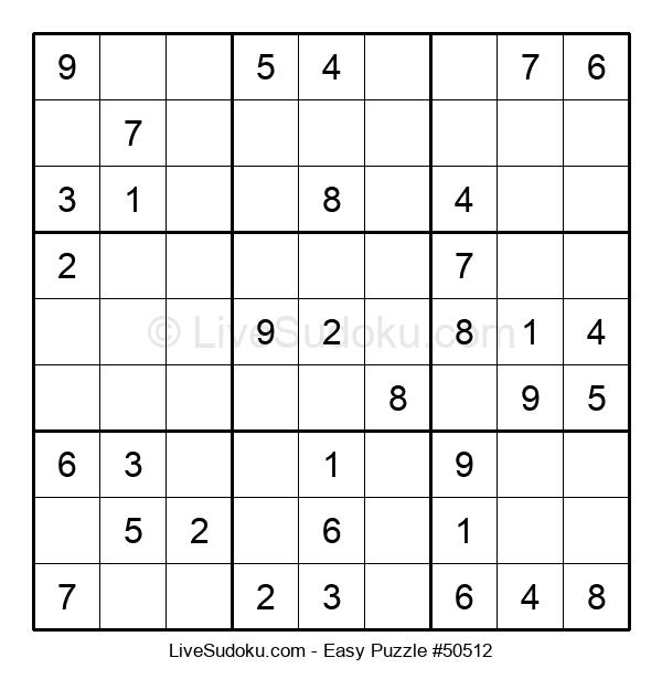 Beginners Puzzle #50512