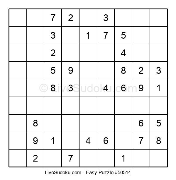 Beginners Puzzle #50514