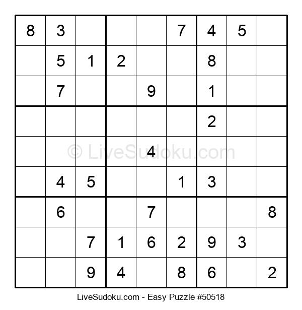 Beginners Puzzle #50518