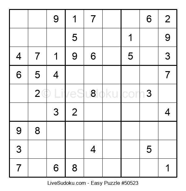 Beginners Puzzle #50523