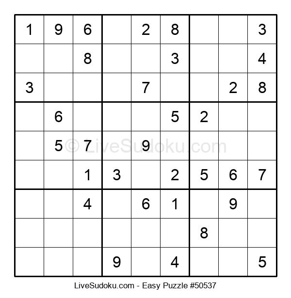 Beginners Puzzle #50537
