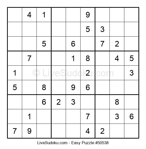 Beginners Puzzle #50538