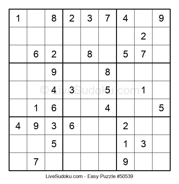 Beginners Puzzle #50539