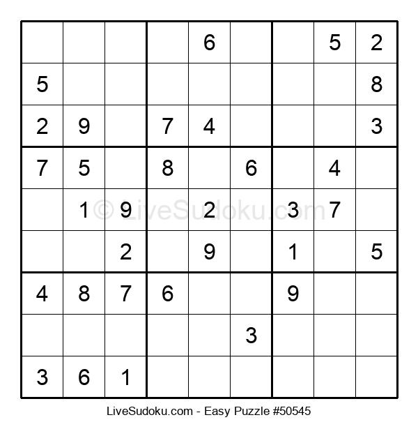 Beginners Puzzle #50545