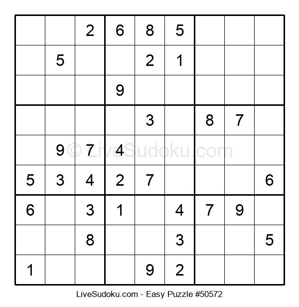 Beginners Puzzle #50572