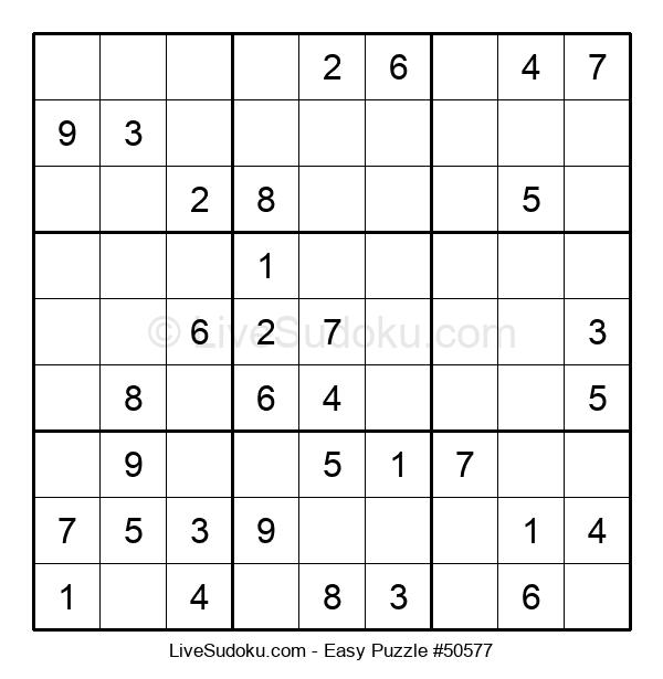 Beginners Puzzle #50577
