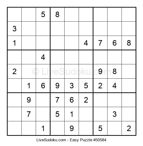 Beginners Puzzle #50584