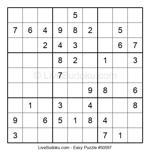 Beginners Puzzle #50597