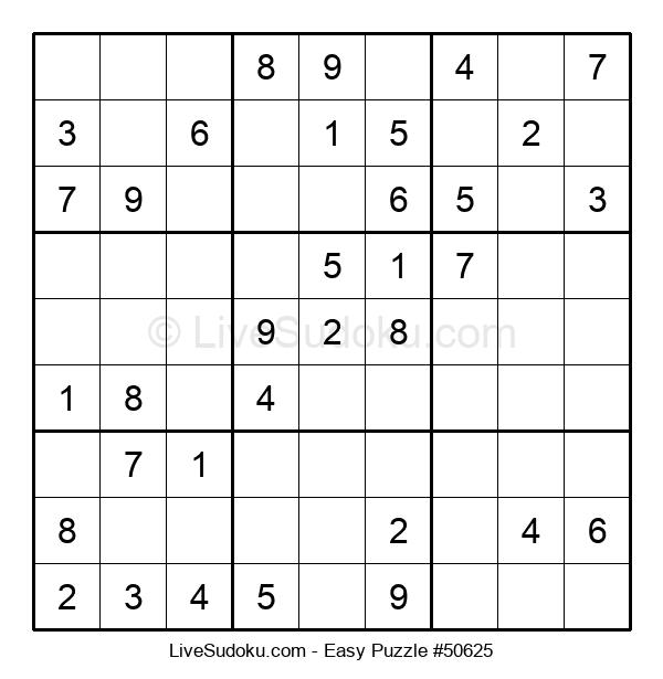 Beginners Puzzle #50625