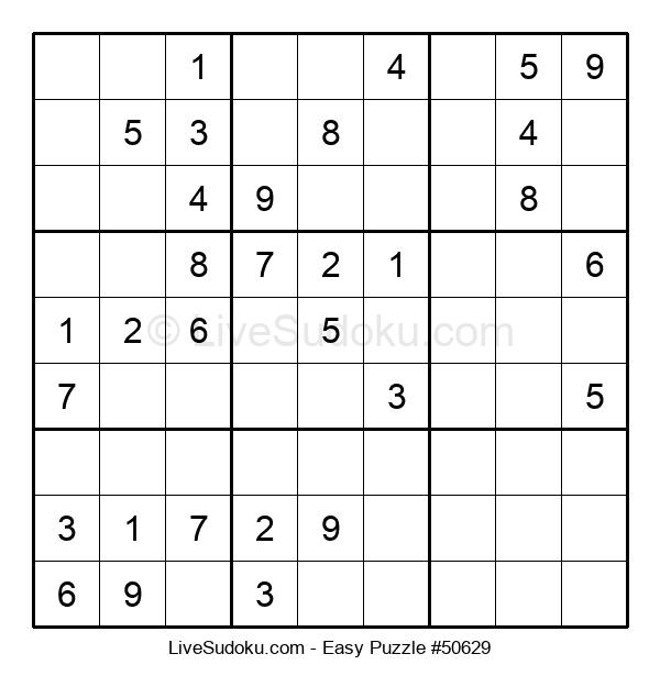 Beginners Puzzle #50629