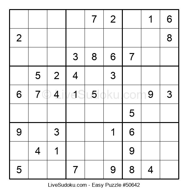 Beginners Puzzle #50642