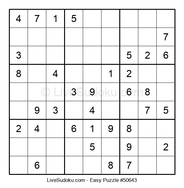 Beginners Puzzle #50643