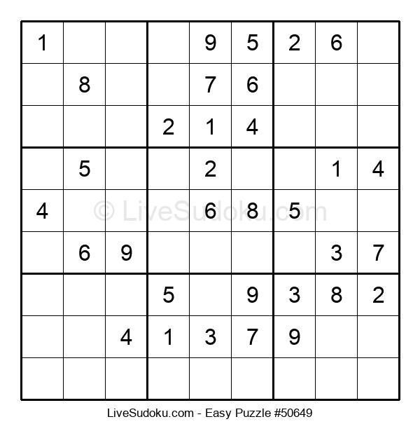 Beginners Puzzle #50649