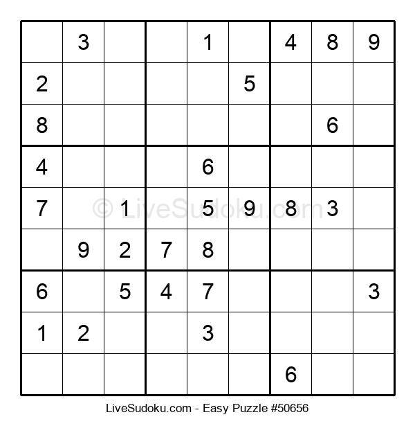 Beginners Puzzle #50656