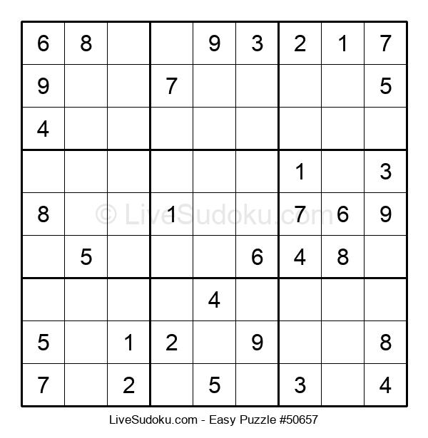 Beginners Puzzle #50657
