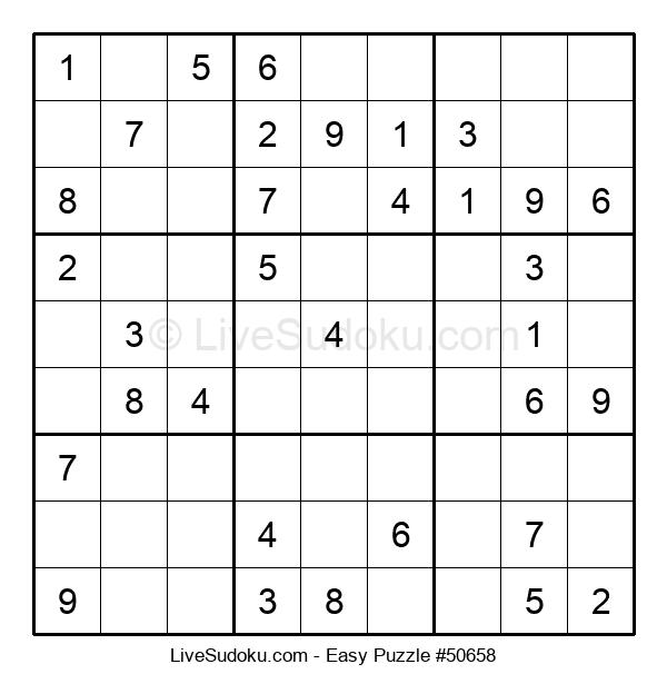 Beginners Puzzle #50658