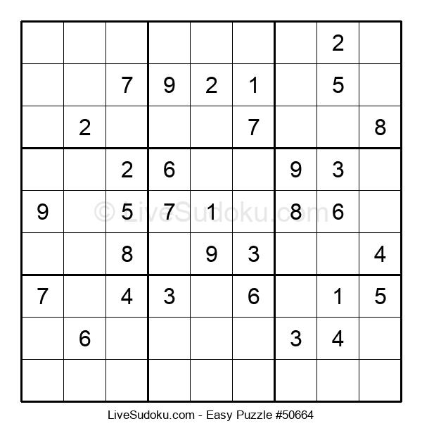 Beginners Puzzle #50664