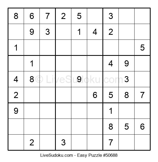 Beginners Puzzle #50688