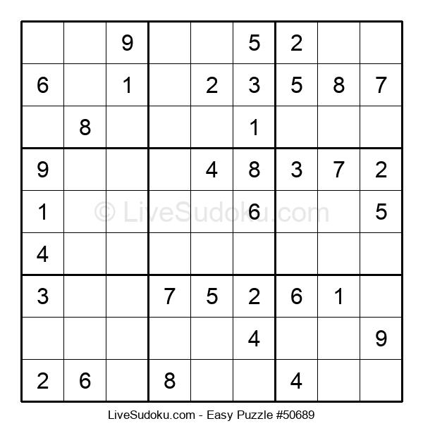 Beginners Puzzle #50689