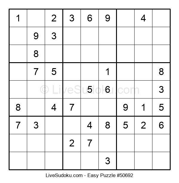 Beginners Puzzle #50692