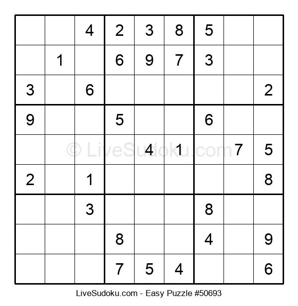 Beginners Puzzle #50693