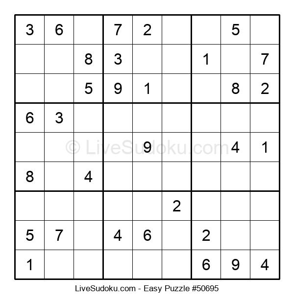 Beginners Puzzle #50695