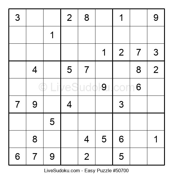 Beginners Puzzle #50700
