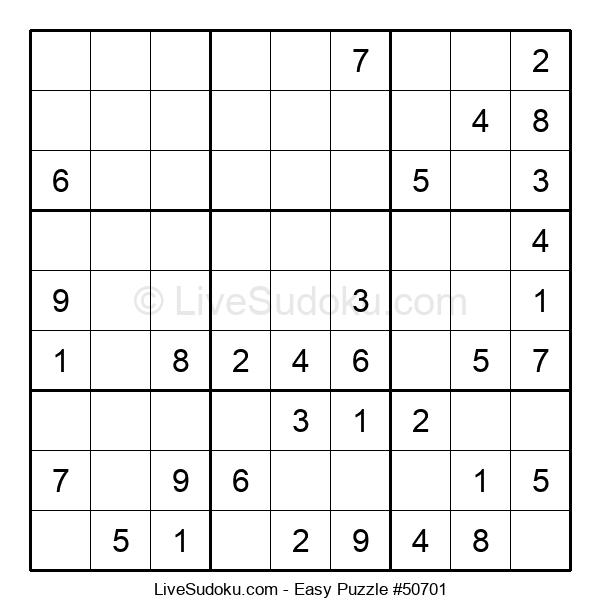 Beginners Puzzle #50701