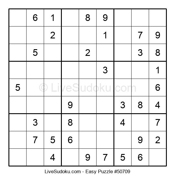 Beginners Puzzle #50709
