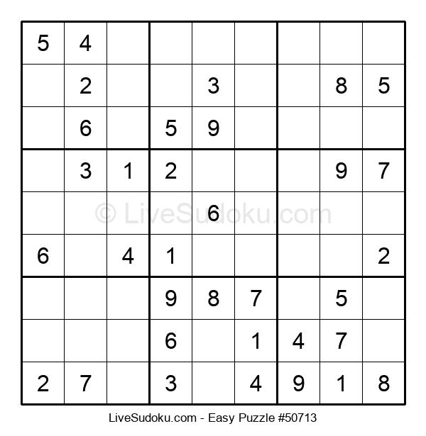 Beginners Puzzle #50713