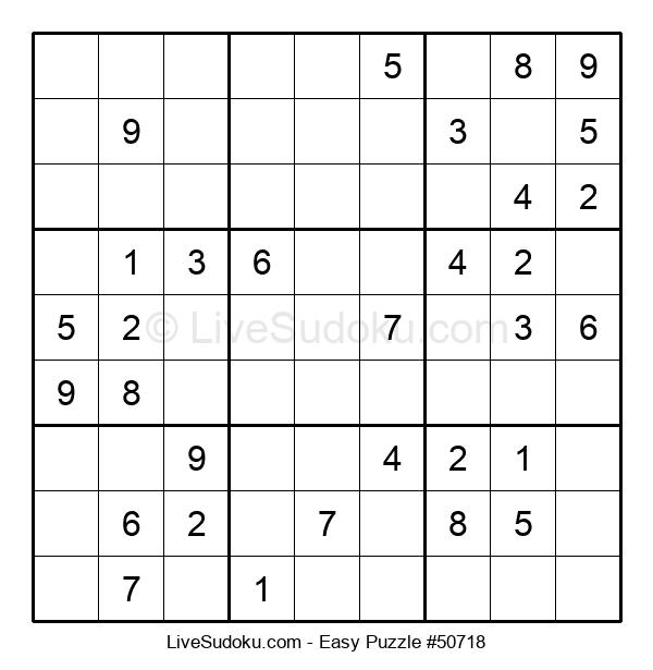 Beginners Puzzle #50718