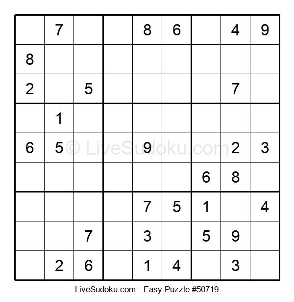 Beginners Puzzle #50719