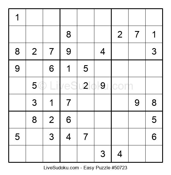 Beginners Puzzle #50723