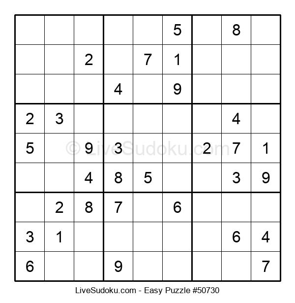 Beginners Puzzle #50730