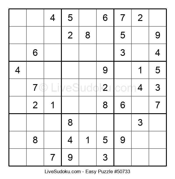 Beginners Puzzle #50733
