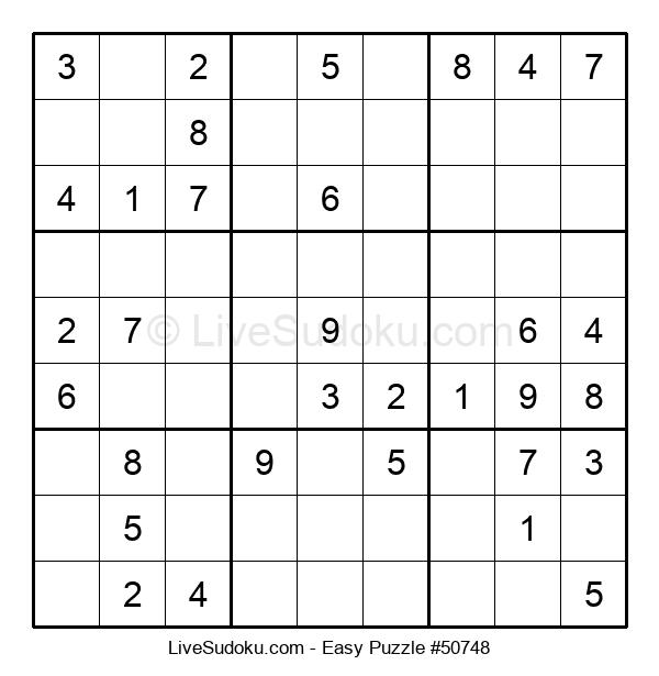 Beginners Puzzle #50748