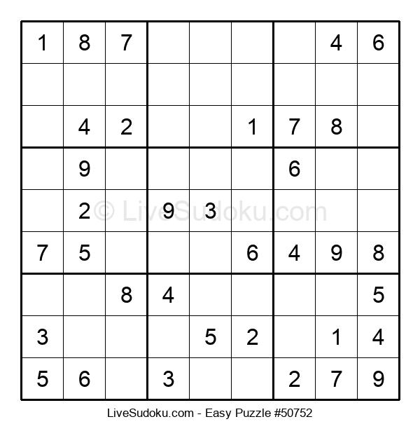 Beginners Puzzle #50752